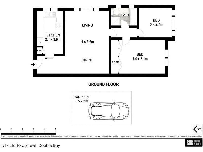 14 Stafford Street, Double Bay NSW 2028 Floorplan