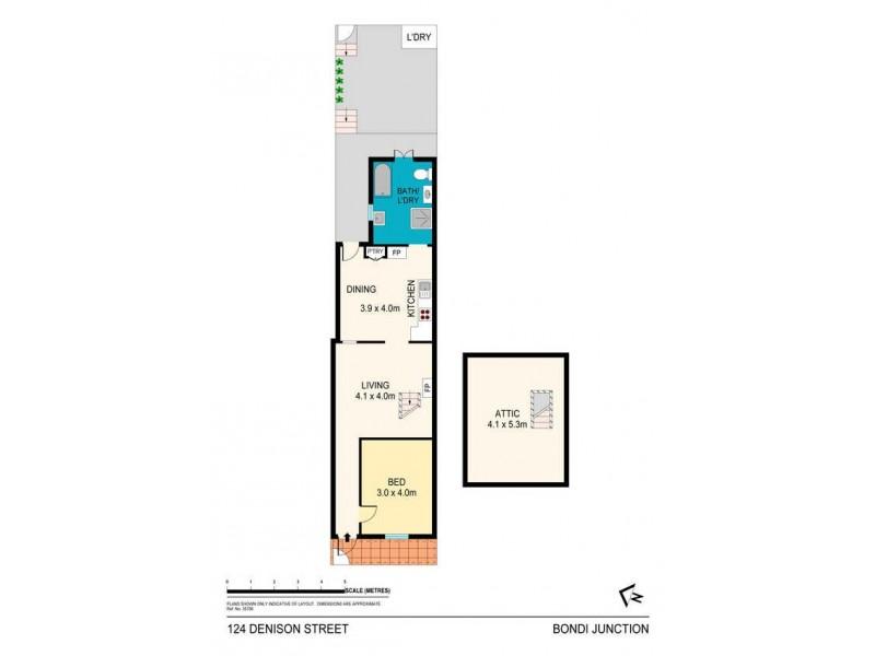 124 Denison Street, Bondi Junction NSW 2022 Floorplan