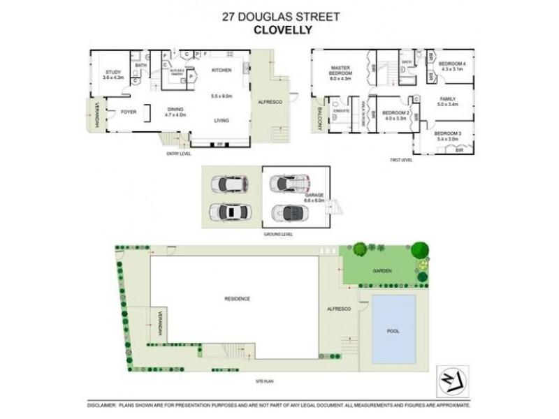 27 Douglas Street, Clovelly NSW 2031 Floorplan