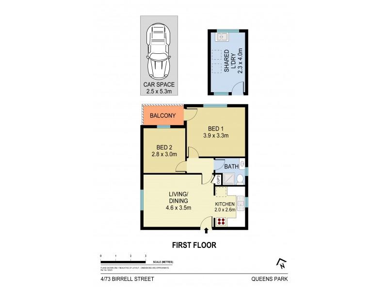 4/73 Birrell Street, Queens Park NSW 2022 Floorplan