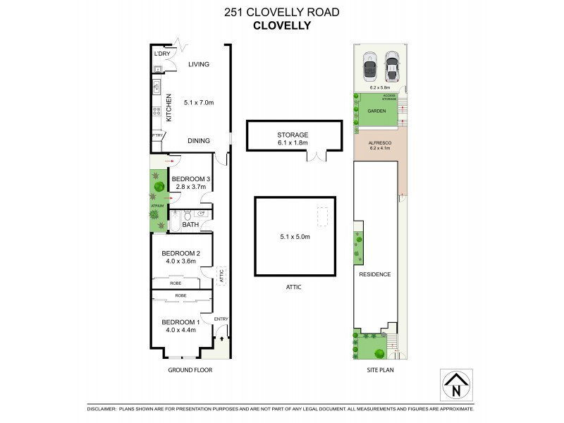 251 Clovelly Road, Clovelly NSW 2031 Floorplan