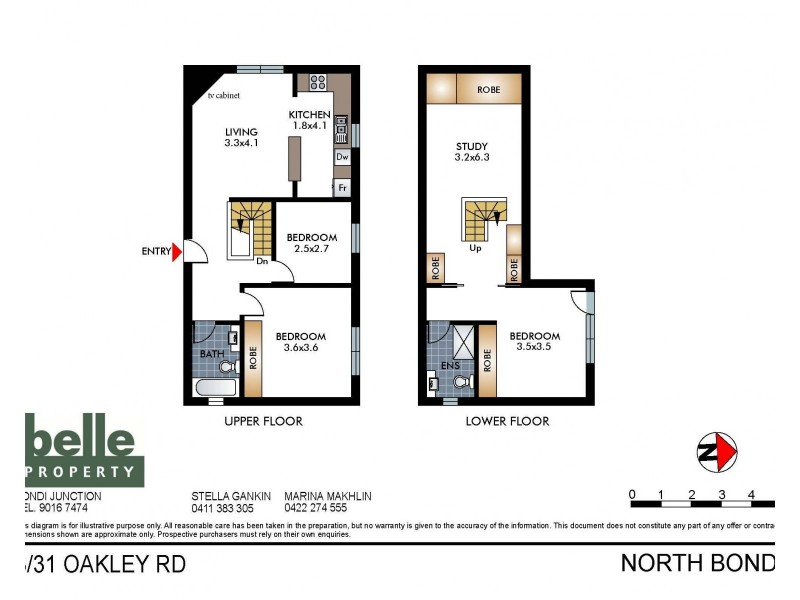 3/31 Oakley Road, North Bondi NSW 2026 Floorplan