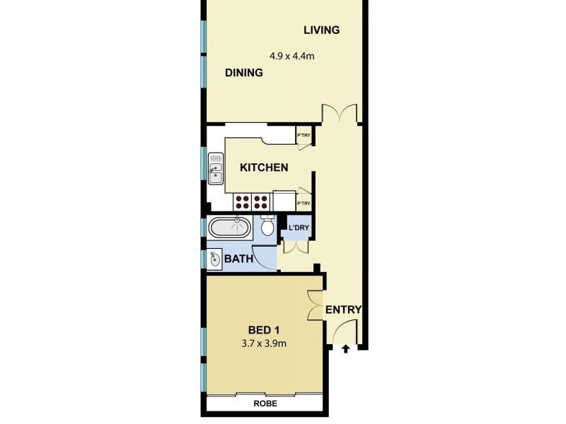 4/50 Bellevue Road, Bellevue Hill NSW 2023 Floorplan