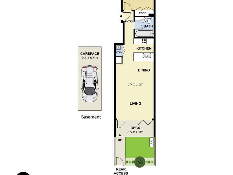 15/173-179 Bronte Road, Queens Park NSW 2022 Floorplan