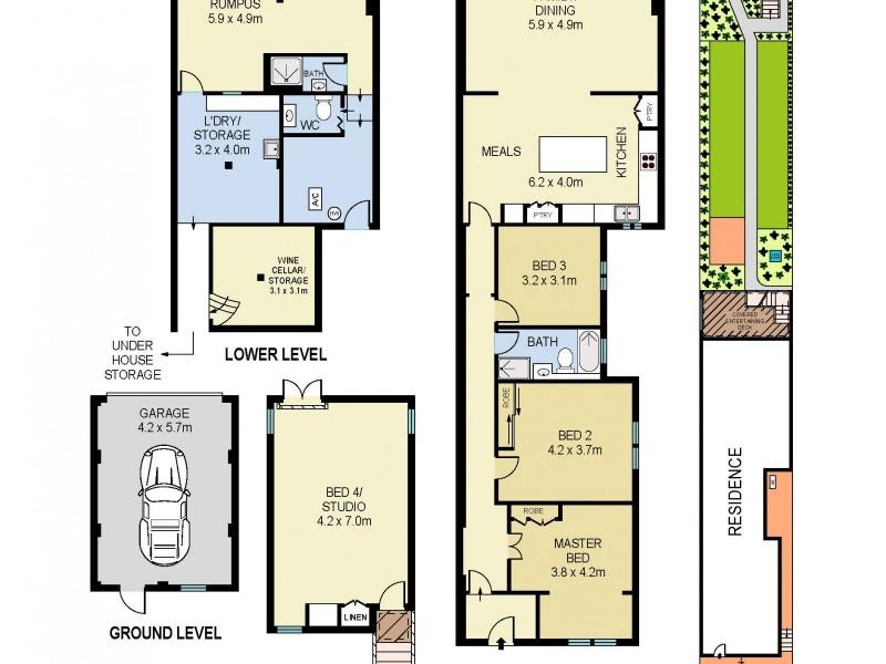 59 Cowper Street, Randwick NSW 2031 Floorplan