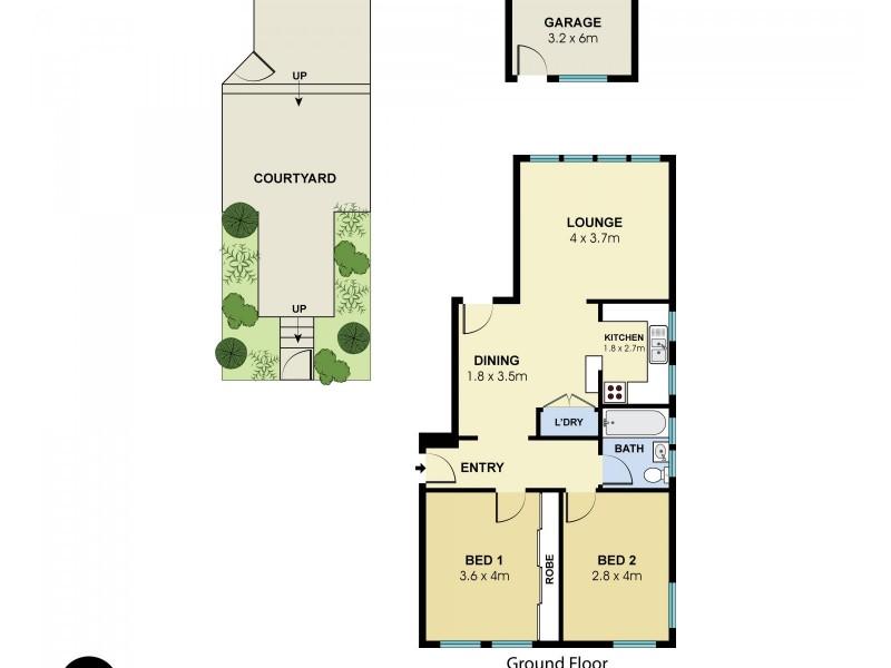 2/353 Maroubra Road, Maroubra NSW 2035 Floorplan