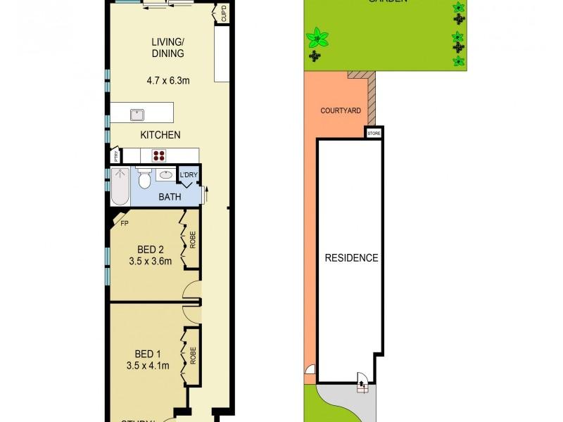3/119 Curlewis Street, Bondi Beach NSW 2026 Floorplan