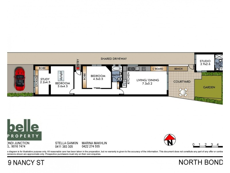 19 Nancy Street, North Bondi NSW 2026 Floorplan