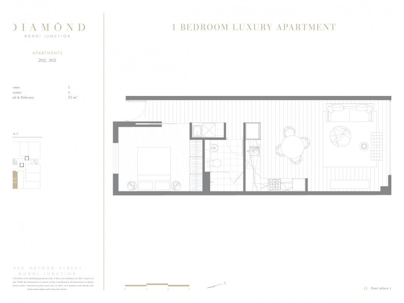 202/350 Oxford Street, Bondi Junction NSW 2022 Floorplan