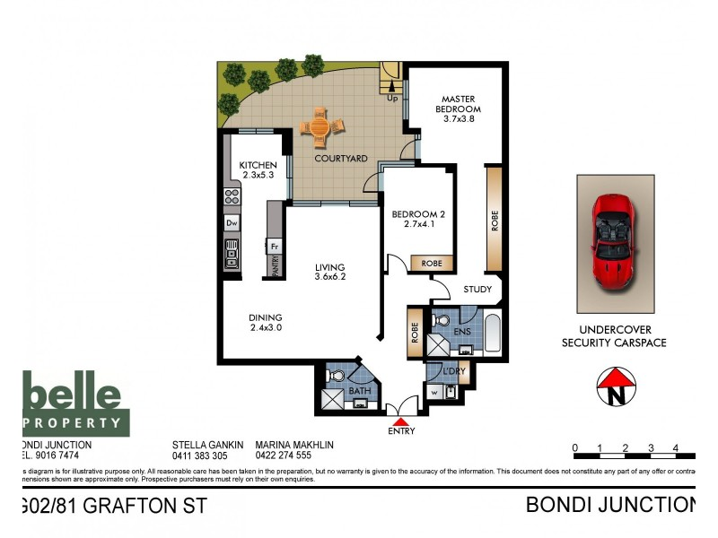 G02/81 Grafton Street, Bondi Junction NSW 2022 Floorplan
