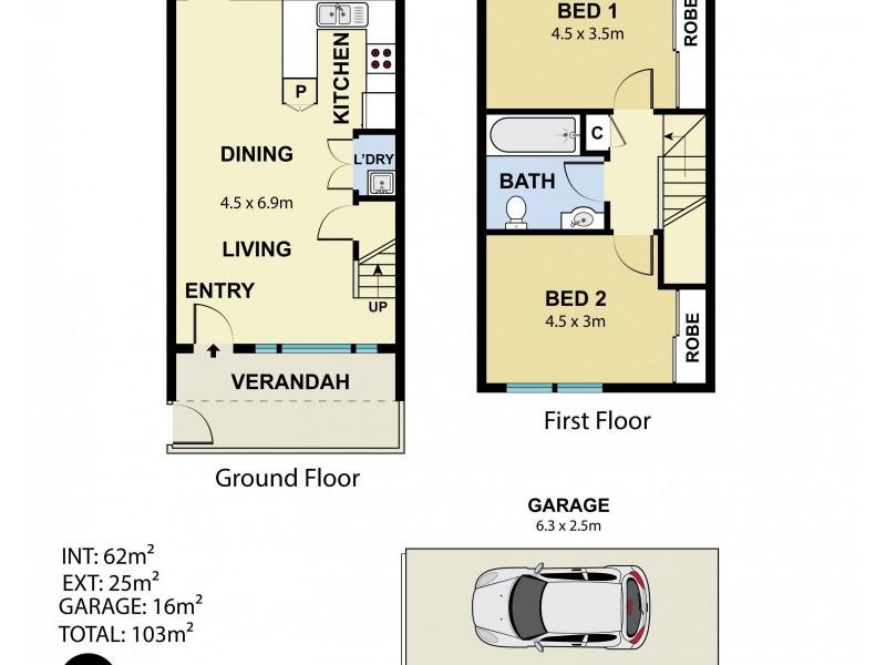 11/4-6 Cowper Street, Randwick NSW 2031 Floorplan