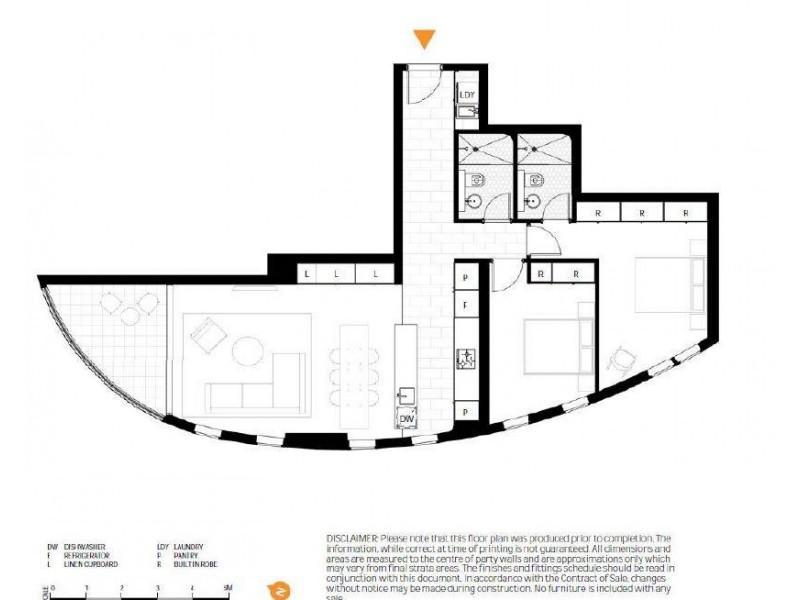 1202/588 Oxford Street, Bondi Junction NSW 2022 Floorplan