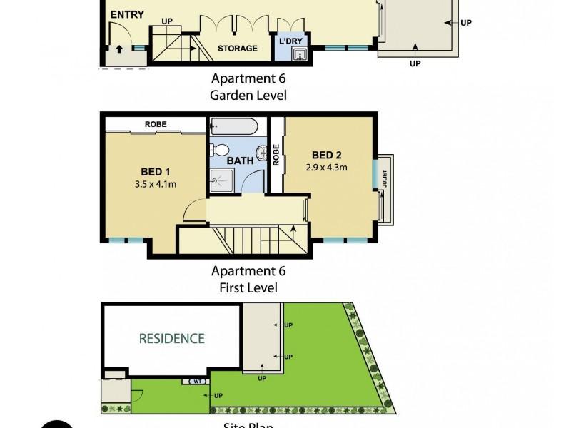 6/137 Maroubra Road, Maroubra NSW 2035 Floorplan