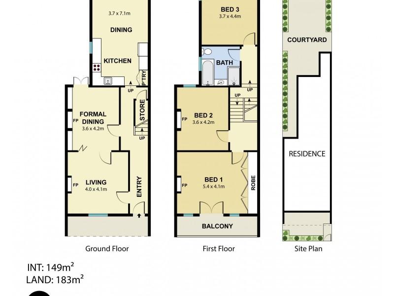 10 Cuthbert Street, Queens Park NSW 2022 Floorplan