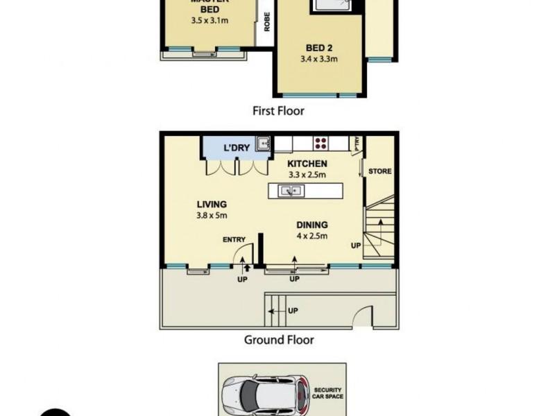 92/6C Defries Avenue, Zetland NSW 2017 Floorplan