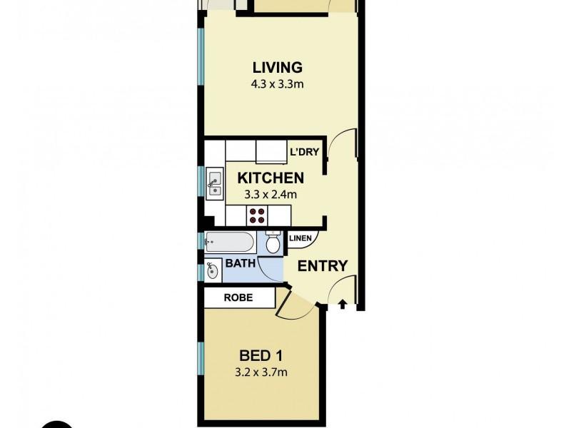 5/32 Curlewis Street, Bondi Beach NSW 2026 Floorplan