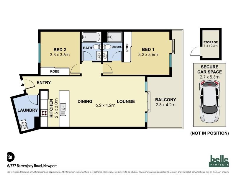 16/377 Barrenjoey Road, Newport NSW 2106 Floorplan