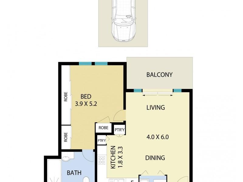 14/63-65 Central Road, Avalon Beach NSW 2107 Floorplan