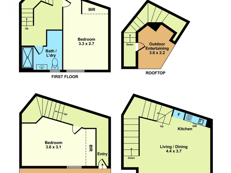 17 Crown Street, Footscray VIC 3011 Floorplan