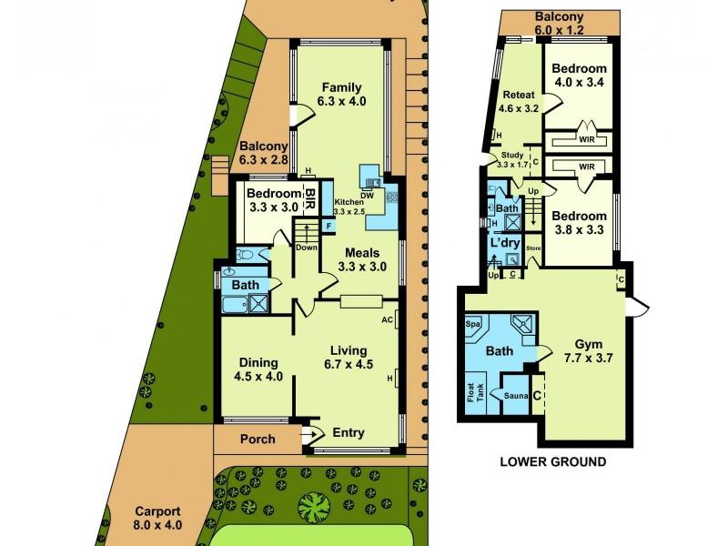 17 Smith Crescent, Footscray VIC 3011 Floorplan