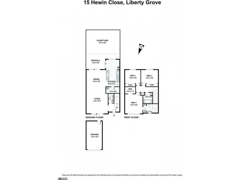 15 Hewin Close, Liberty Grove NSW 2138 Floorplan