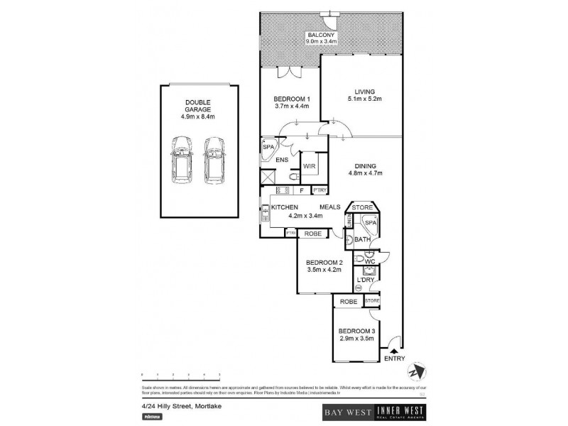 4/24 Hilly Street, Mortlake NSW 2137 Floorplan