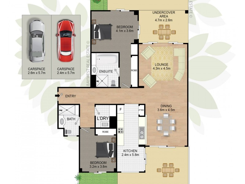 105/8 Village Drive, Breakfast Point NSW 2137 Floorplan