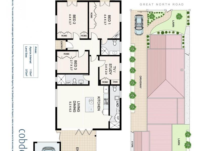 352 Great North Road, Abbotsford NSW 2046 Floorplan