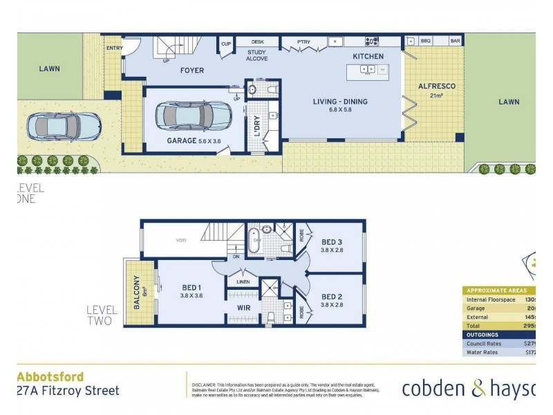 27A Fitzroy Street, Abbotsford NSW 2046 Floorplan