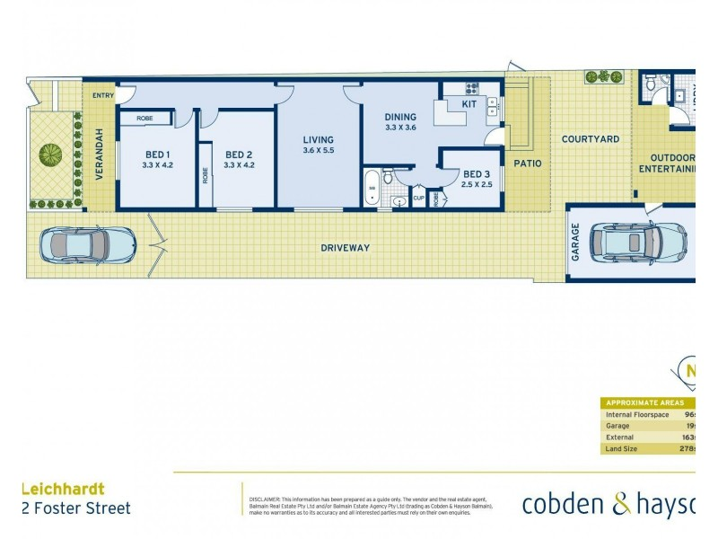 2 Foster Street, Leichhardt NSW 2040 Floorplan