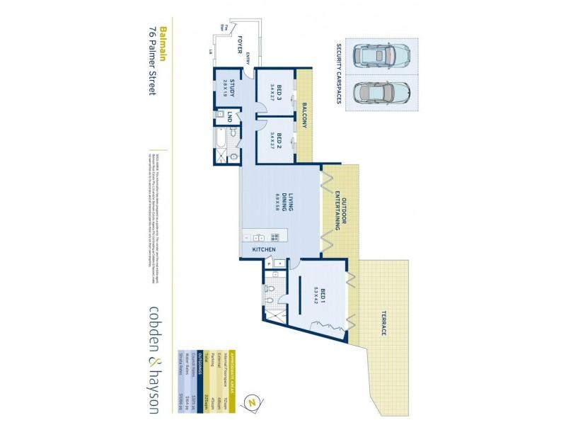 76 Palmer Street, Balmain NSW 2041 Floorplan