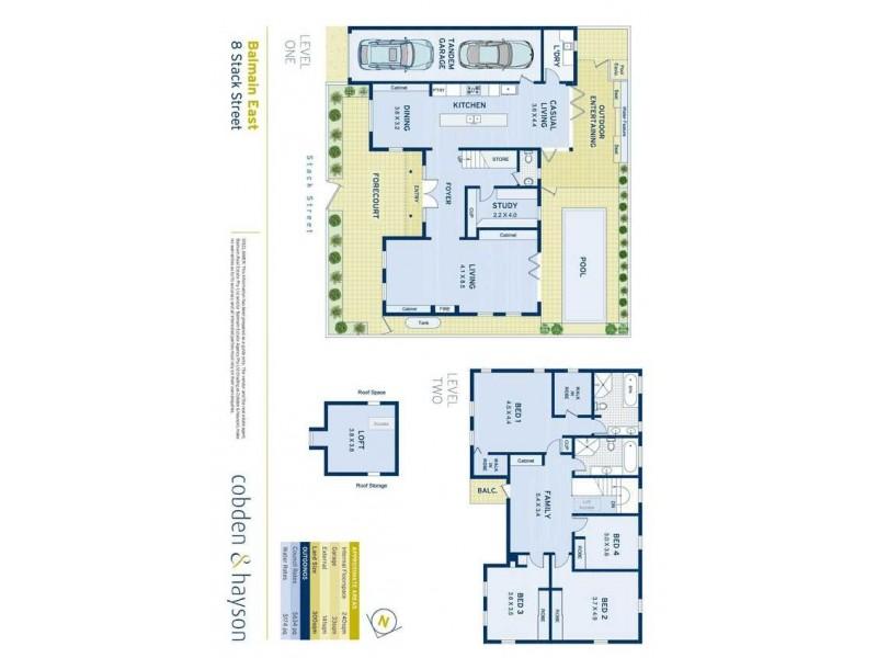 8 Stack Street, Balmain East NSW 2041 Floorplan