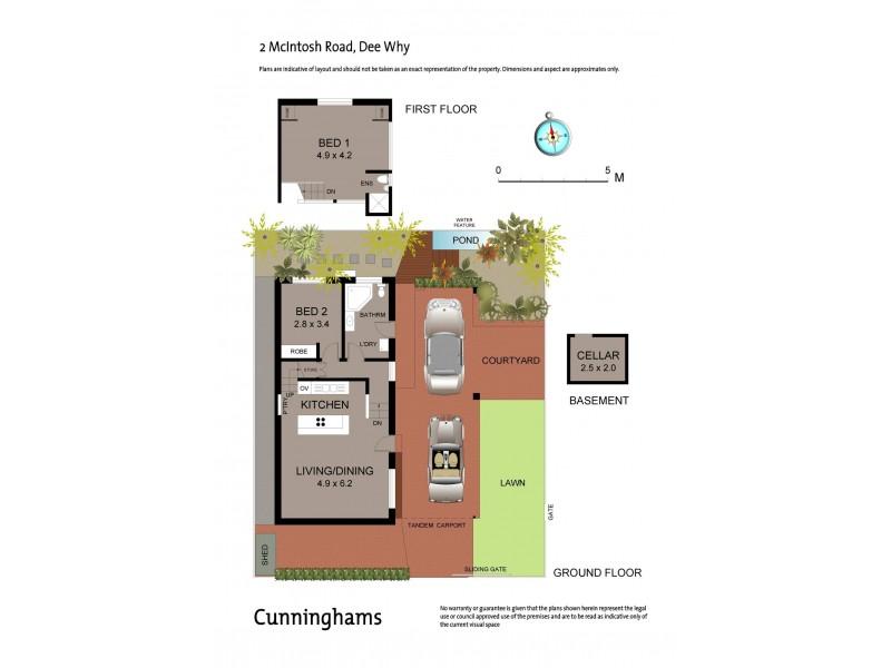 2 McIntosh Road, Dee Why NSW 2099 Floorplan