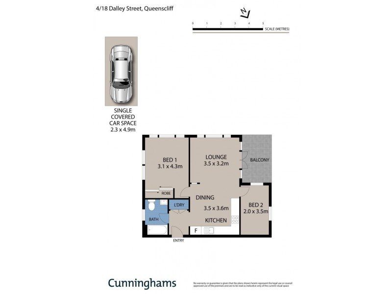 4/18 Dalley Street, Queenscliff NSW 2096 Floorplan