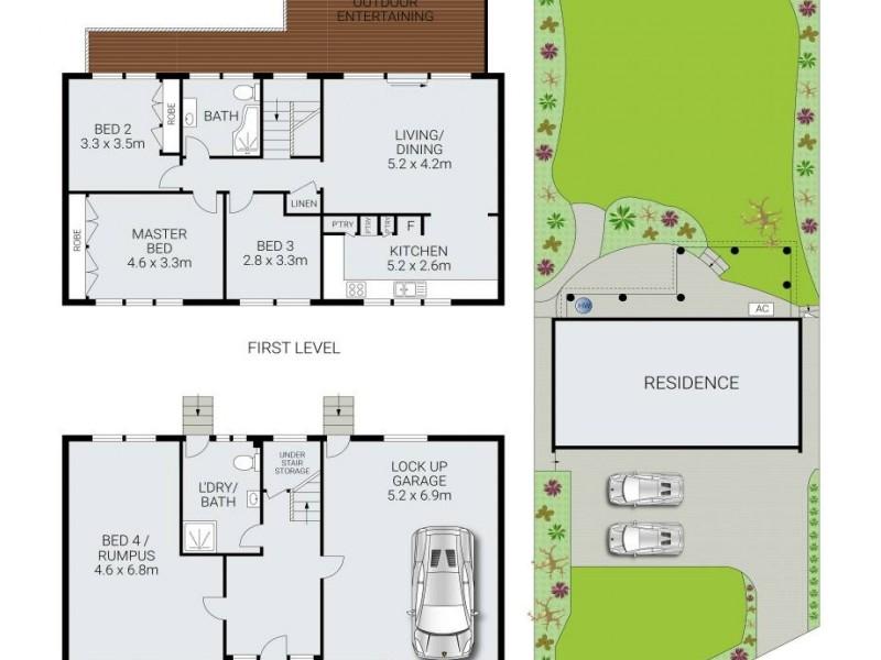 248 Allambie Road, Allambie Heights NSW 2100 Floorplan