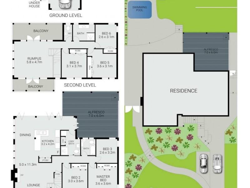 8 Western Avenue, North Manly NSW 2100 Floorplan