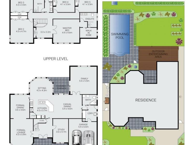 82 Lady Penrhyn Drive, Beacon Hill NSW 2100 Floorplan