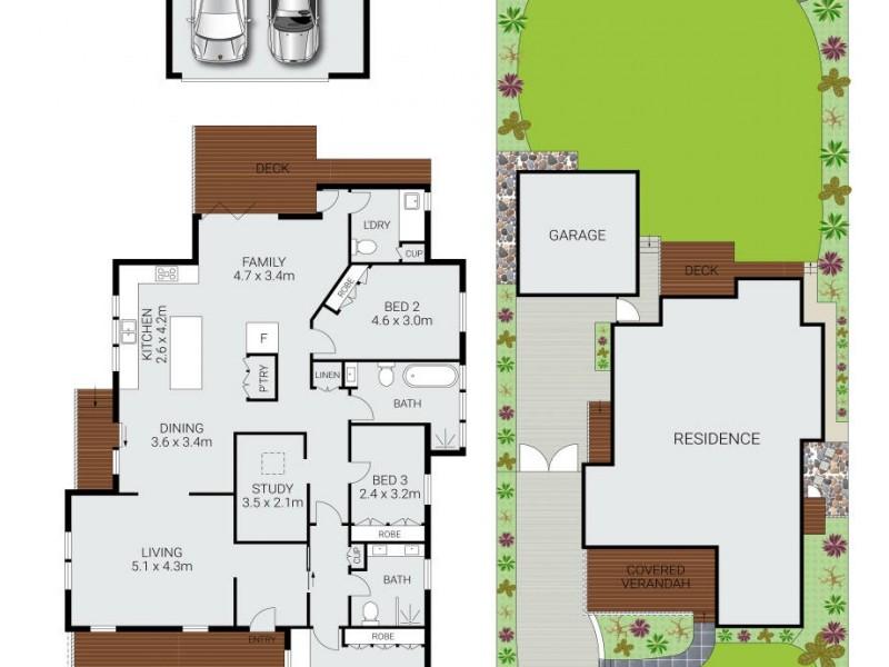 23 Inglebar Avenue, Allambie Heights NSW 2100 Floorplan