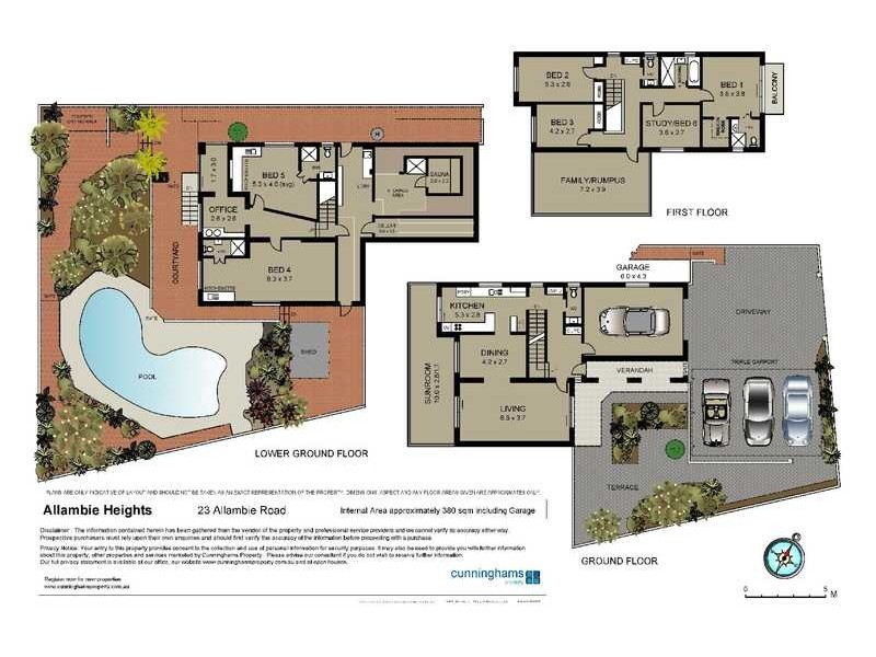 23 Allambie Road, Allambie Heights NSW 2100 Floorplan
