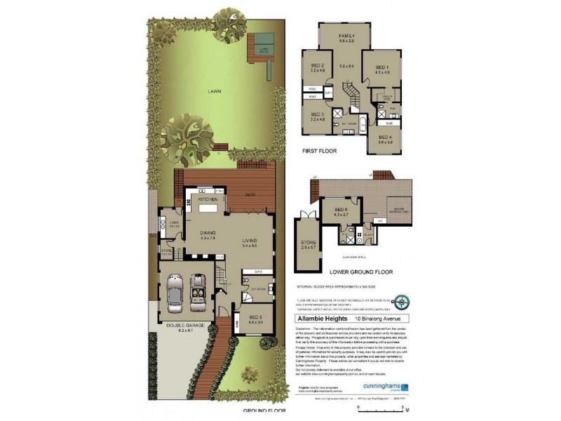 10 Binalong Avenue, Allambie Heights NSW 2100 Floorplan