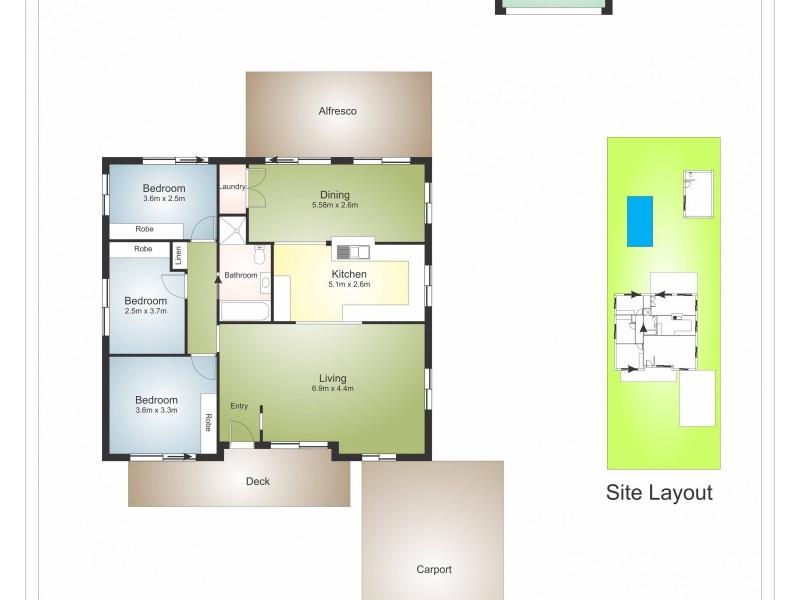 3 Galloway Street, Kurri Kurri NSW 2327 Floorplan