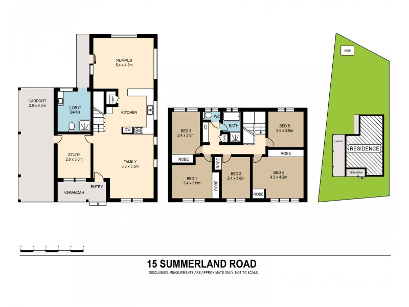 15 Summerland Road, Summerland Point NSW 2259 Floorplan