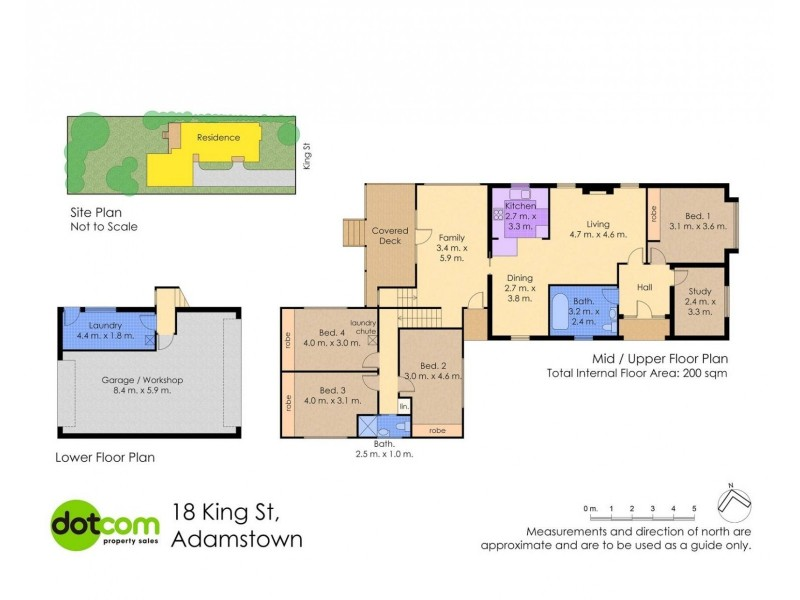 18 King Street, Adamstown NSW 2289 Floorplan