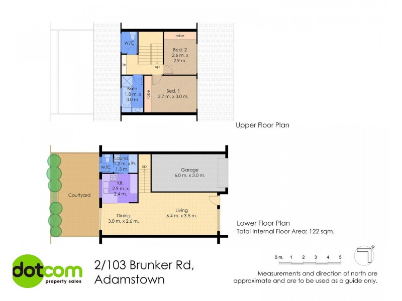 2/103 Brunker Road, Adamstown NSW 2289 Floorplan
