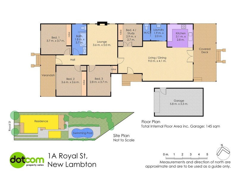 1A Royal Street, New Lambton NSW 2305 Floorplan