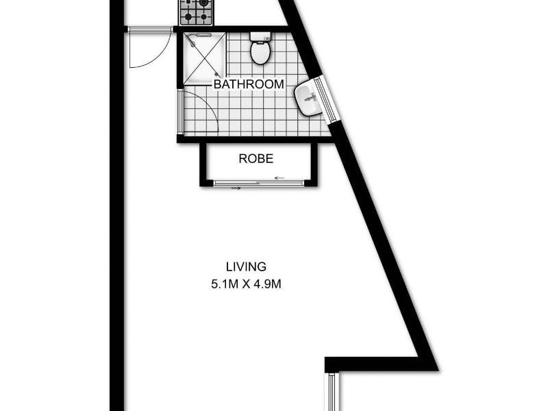 54/68 Roslyn Gardens, Rushcutters Bay NSW 2011 Floorplan