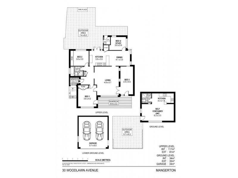 30 Woodlawn Avenue, Mangerton NSW 2500 Floorplan