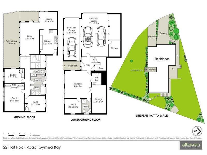 22 Flat Rock Road, Gymea Bay NSW 2227 Floorplan