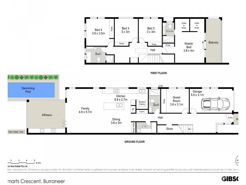 20B Smarts Crescent, Burraneer NSW 2230 Floorplan
