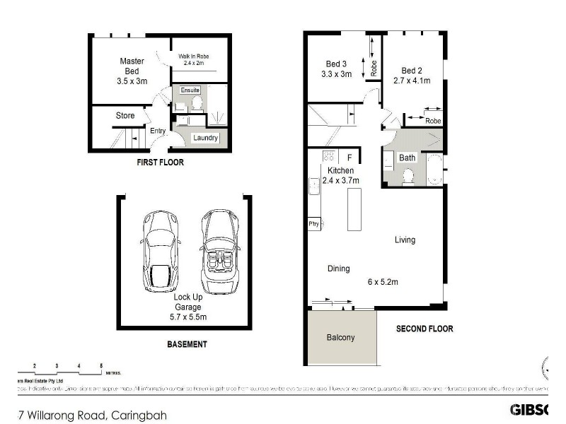 30/137-143 Willarong Road, Caringbah NSW 2229 Floorplan